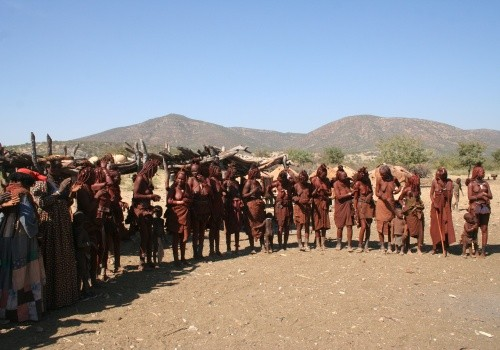 Himba People Cover